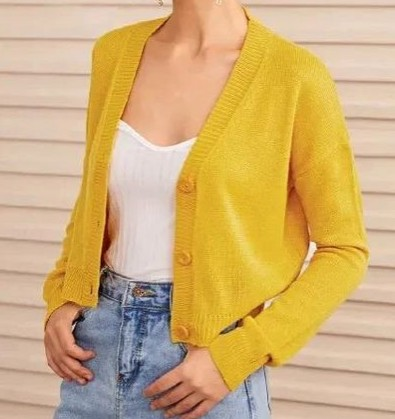 File:Yellow Sweater Button up.jpg