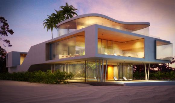 Ambassador 39 s home 118wiki - 3 storey building exterior design ...