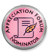 Appreciation Forum Nominator Elite Badge