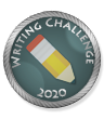 Writing Challenge 2020 Winner Badge