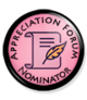 Appreciation Forum Nominator