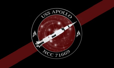 USS Apollo Flag