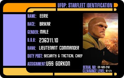 Starfleet Serial Number Register 118wiki