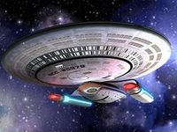The Nebula-Class USS Columbia, Theo's first assignment after graduating from Starfleet Academy.